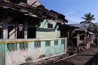 Kebakaran di Melayu Empat Rumah Rusak Berat, Satu Warga Meninggal