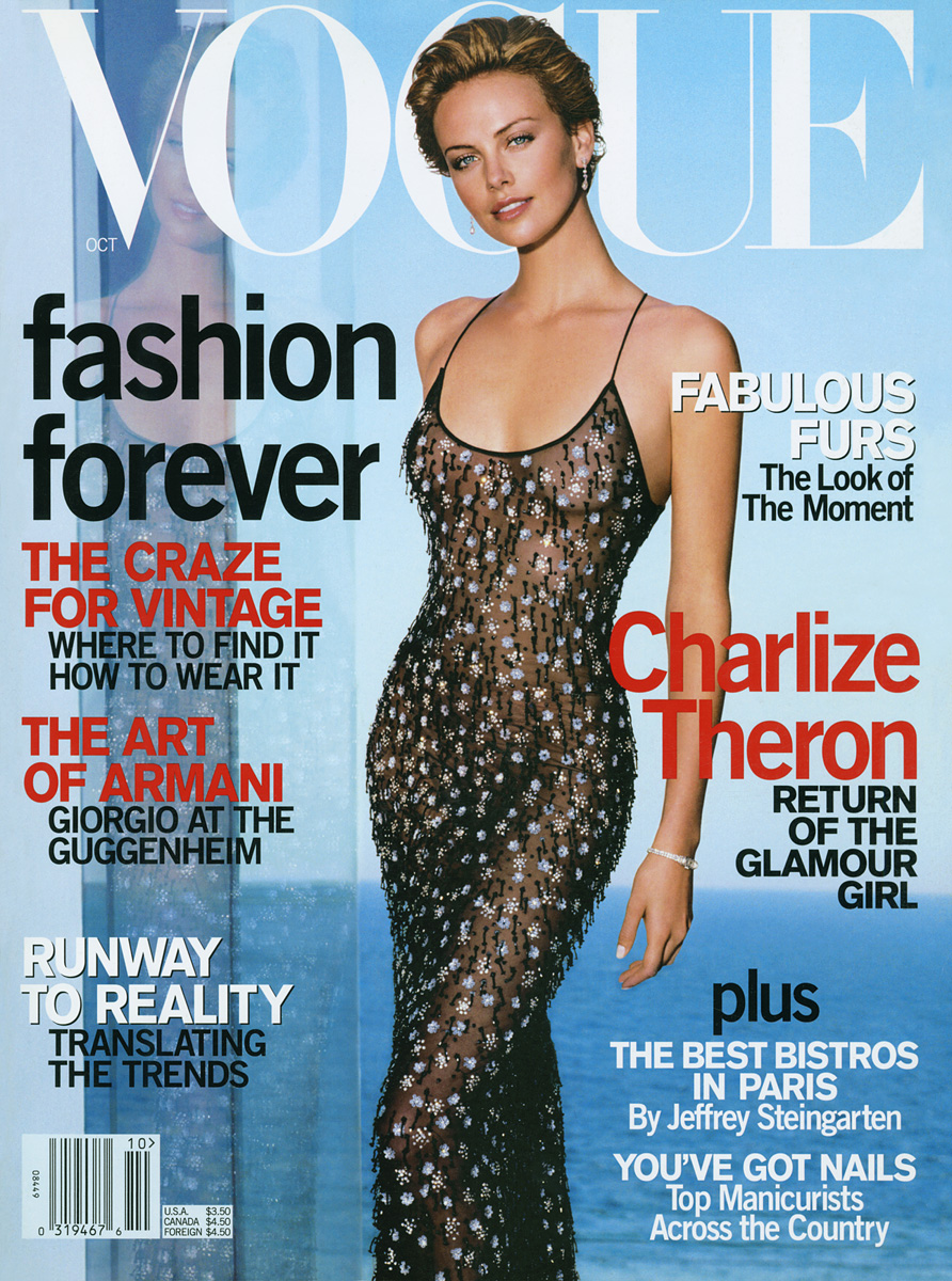 Oh Charlize Theron Throughout The Years In Vogue