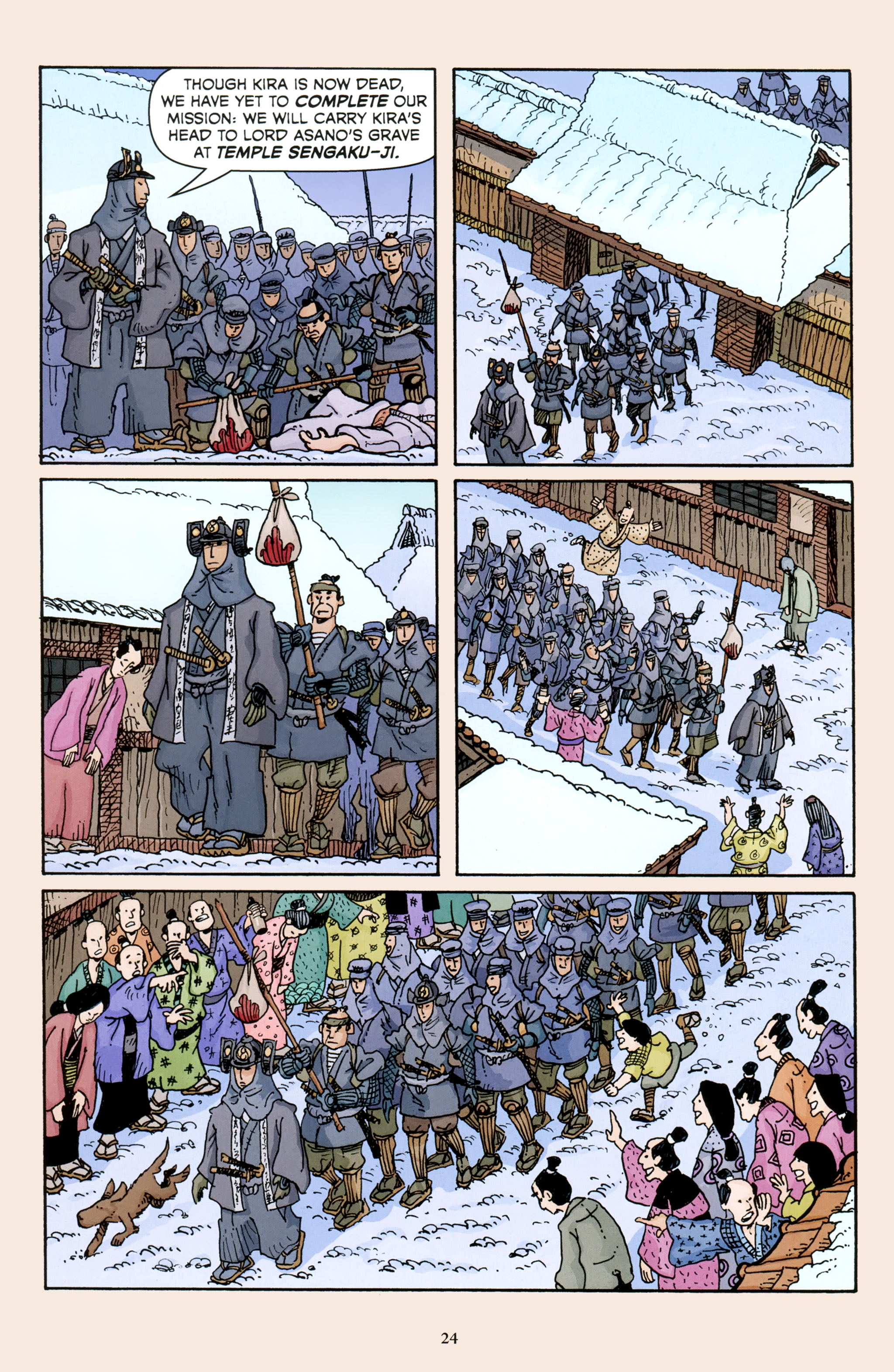 Read online 47 Ronin comic -  Issue #5 - 26