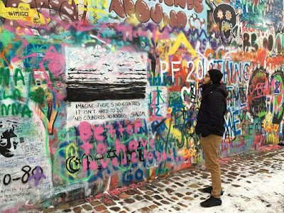 John Lennon Wall Prague Czech Republic Travel Blog