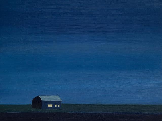 Tom Hammick arte, imagenes de soledad bonitas, pinturas tristes,