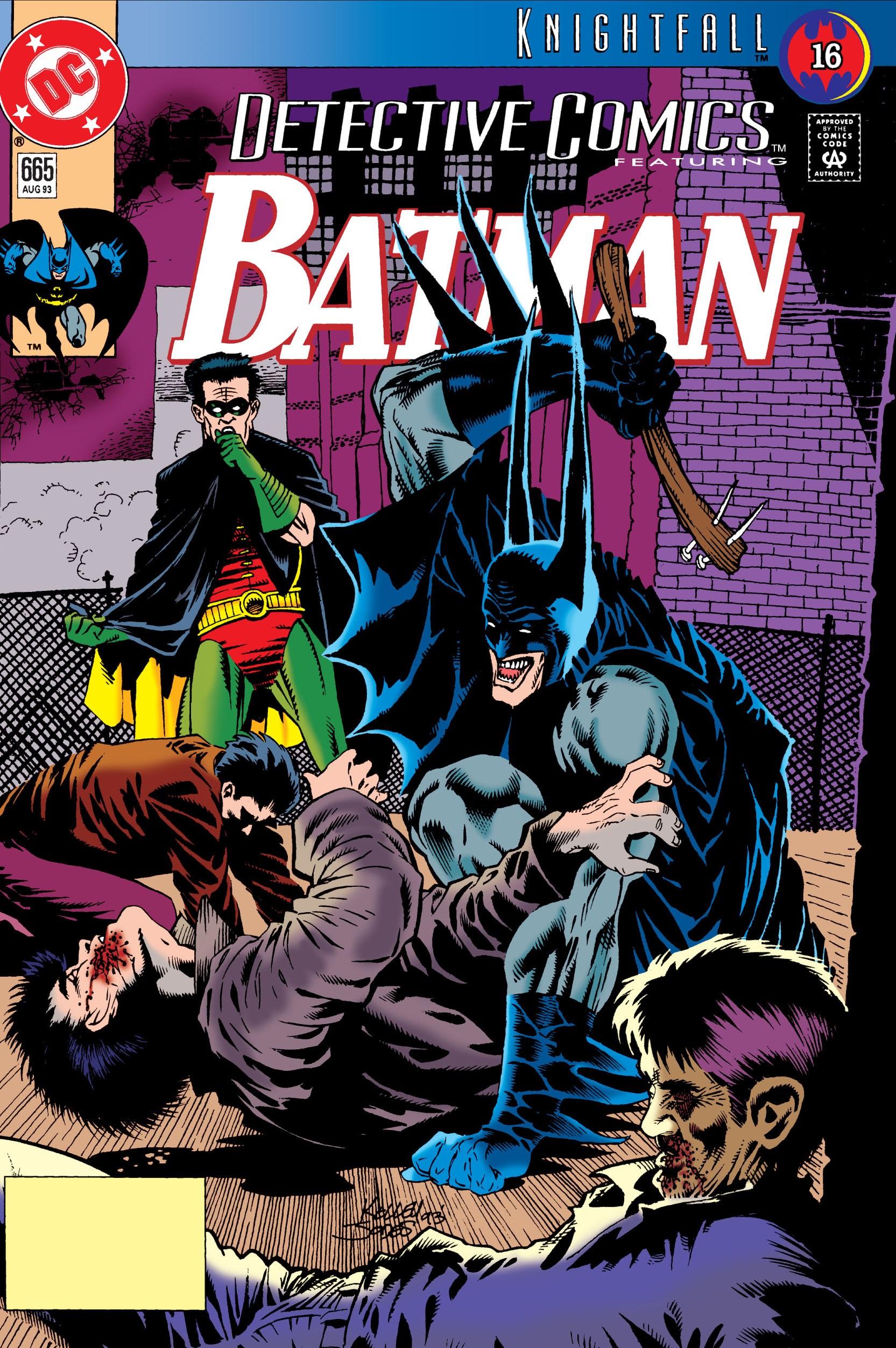 Detective Comics (1937) 665 Page 0