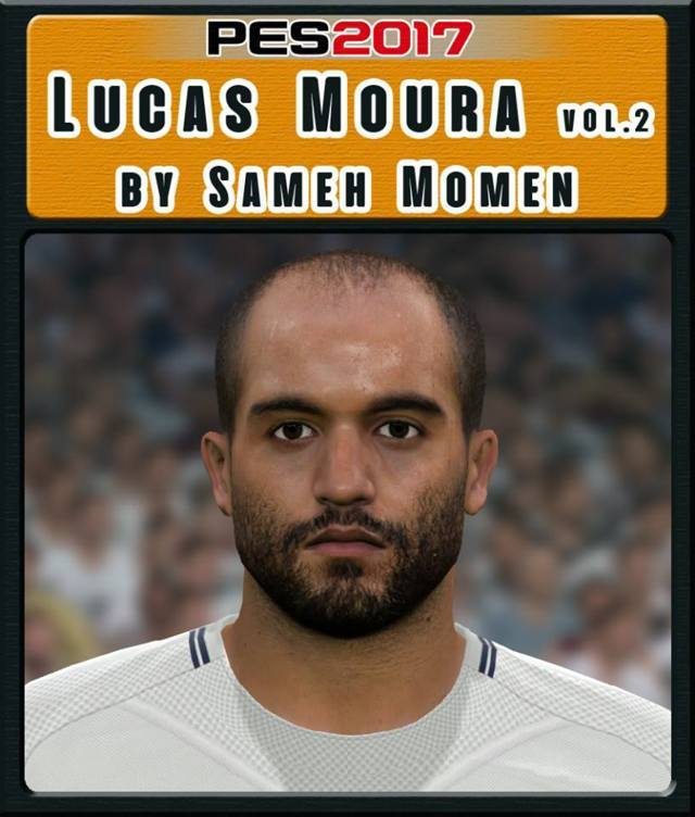 Pes 2017 Lucas Torreira Face By Sameh Momen: Lucas Moura Face Vol.2 - PES 2017 - PATCH PES