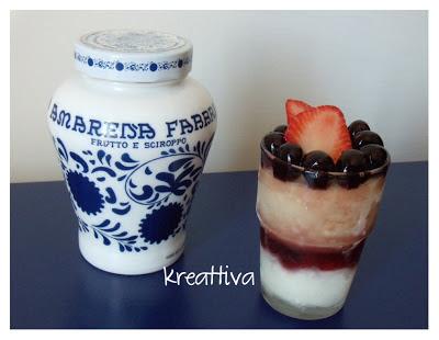 dessert estivo allo yogurt