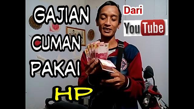 Youtuber Sukses Bermodalkan HP