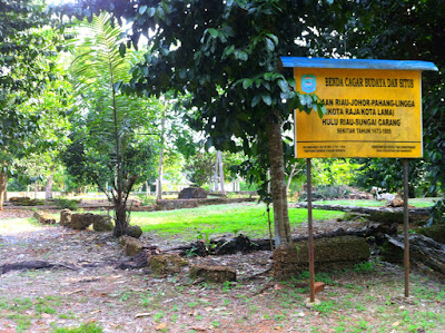 Pusat kerajaan Riau-Johor-Pahang di Bintan