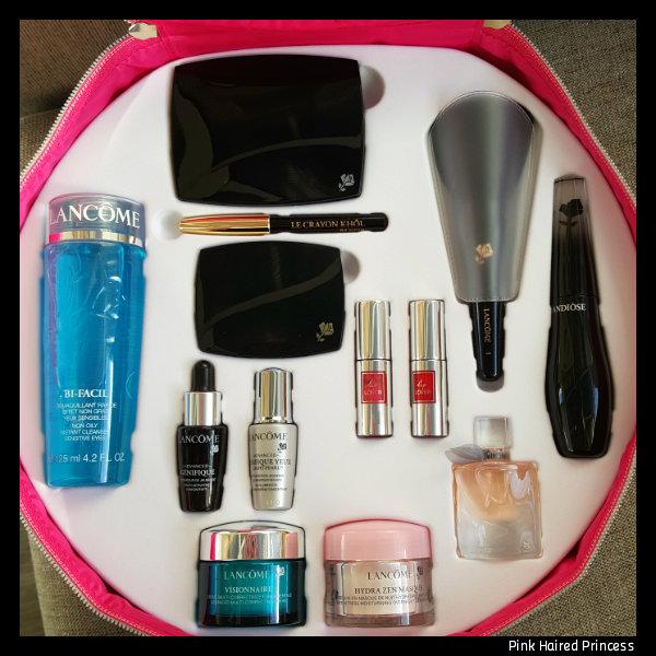 lancome the o beauty set 2016 products