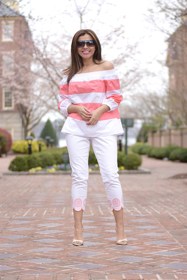 Stripes And Embroidery by Mari Estilo Ft. Belk