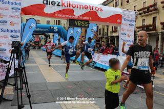 carrera 10 Km Leon 2017
