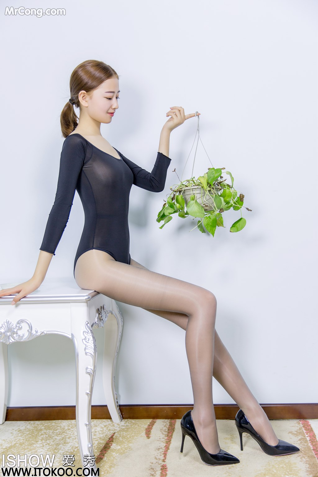 Image ISHOW-No.151-Han-Zhi-Ying-Flora-MrCong.com-010 in post ISHOW No.151: Người mẫu Han Zhi Ying (寒栀樱Flora) (31 ảnh)