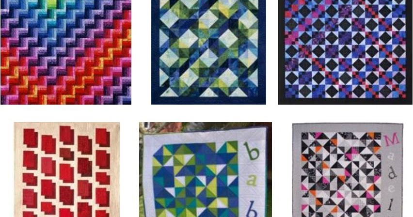 Quilt Inspiration: Simple Shapes In Quilting