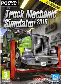 This stunning simulator puts you in the front seat of a serious car workshop specialized  Truck Mechanic Simulator 2015-SKIDROW