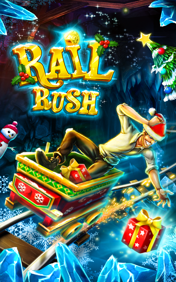 Apk download: Rail Rush 1 5 0 MOD APK Unlimited Money(Christmas