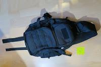 Erfahrungsbericht: Lalawow Sling Bag taktisch Rucksack Daypack Fahrradrucksack Umhängetasche Schultertasche Crossbody Bag