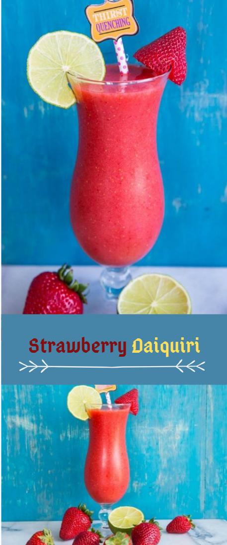 Strawberry Daiquiri #iced#healthy