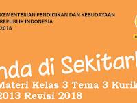 Download Materi Kelas 3 Tema 3 Kurikulum 2013 Revisi 2018