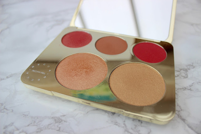 becca, becca highlighting pallete, champagne pop, Becca X champagne collection face palette