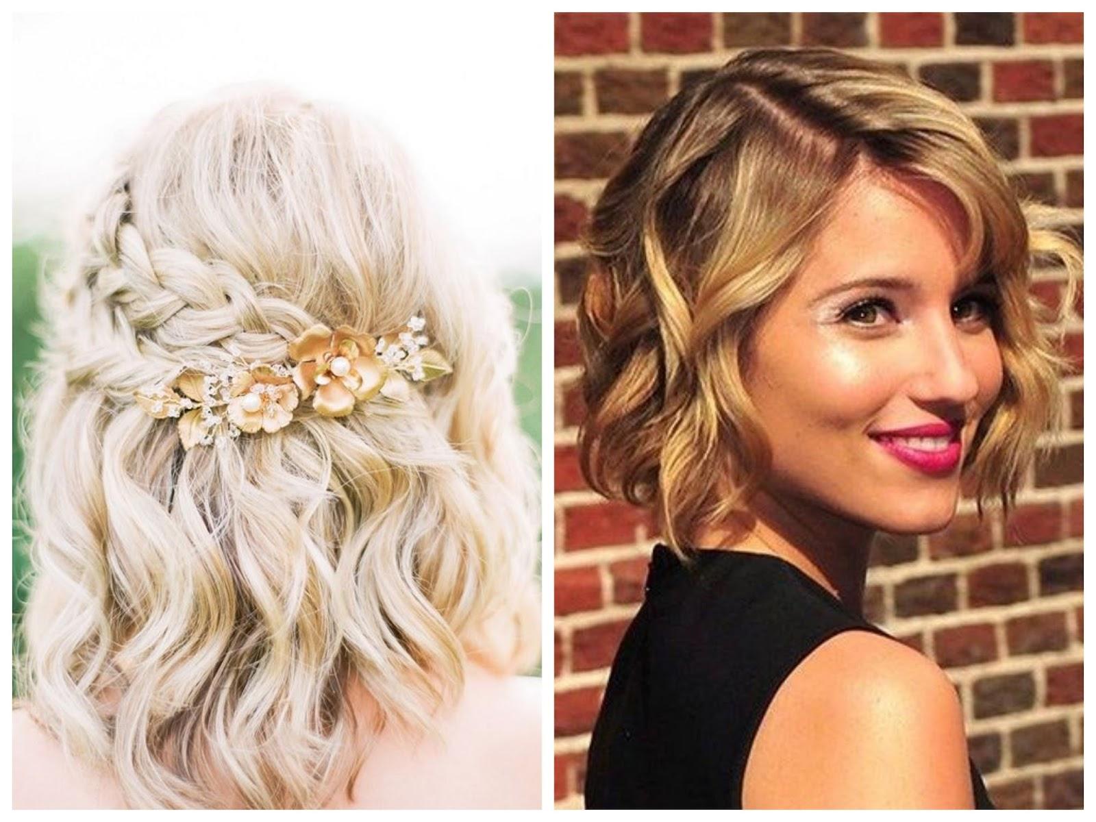 Peinados para invitadas con pelo corto sweet bodas - Como hacer peinado para boda ...