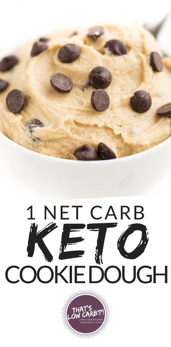 Keto Cookie Dough Recipe