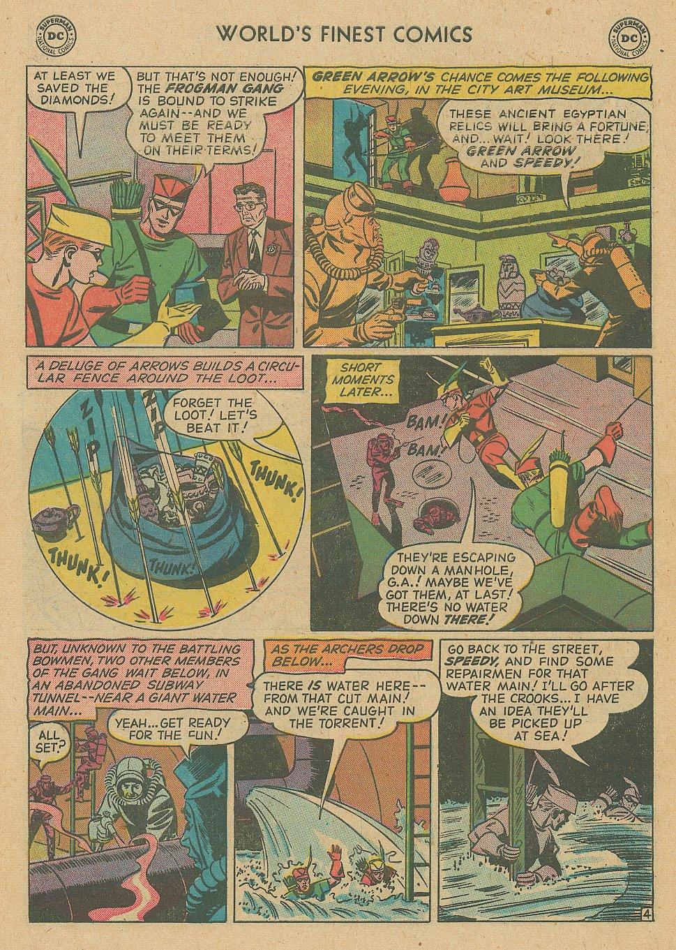 Read online World's Finest Comics comic -  Issue #92 - 6