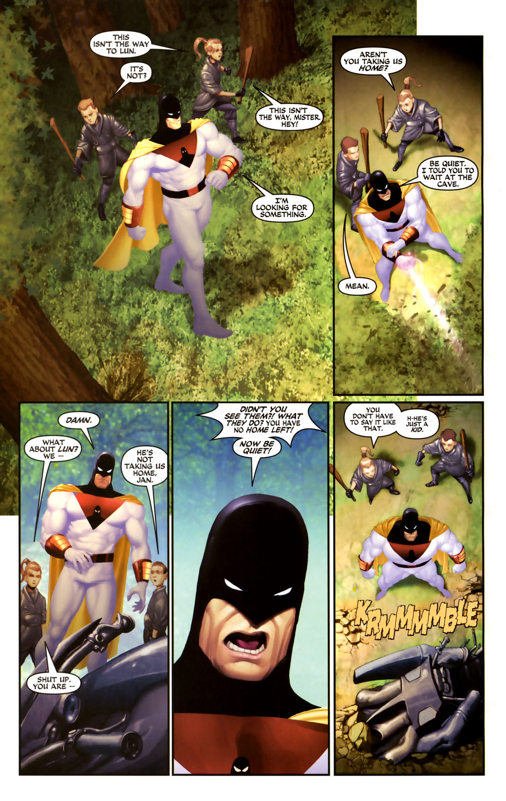 Read online Space Ghost (2005) comic -  Issue #4 - 15