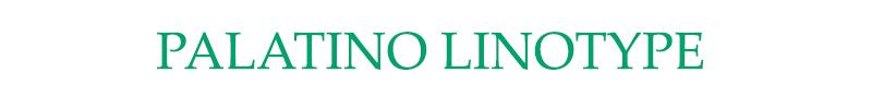 font chữ fake cmnd Palatino Linotype