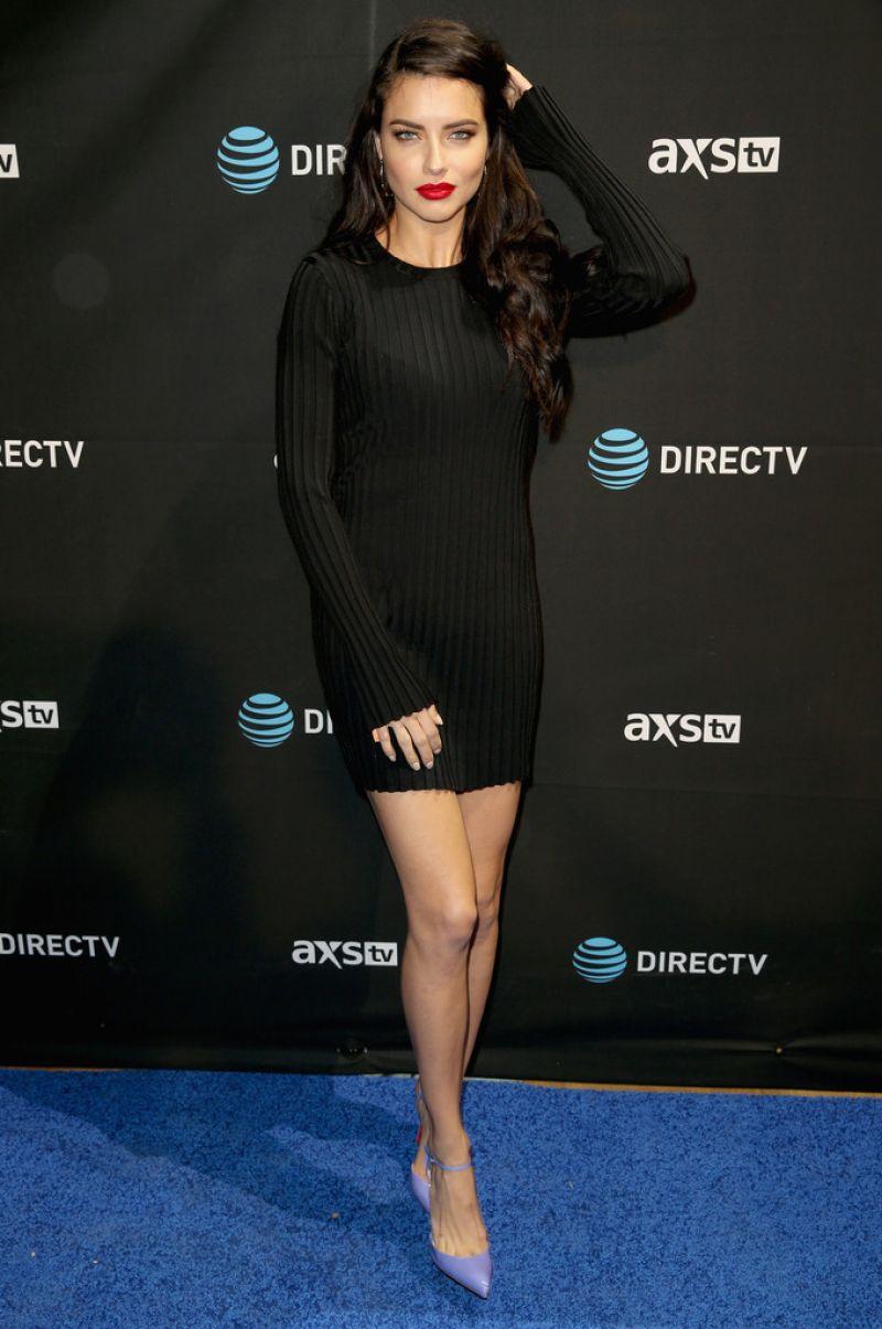Victoria's Secret Fashion Show Model Adriana Lima Photos - DirecTv Super Saturday Night in California