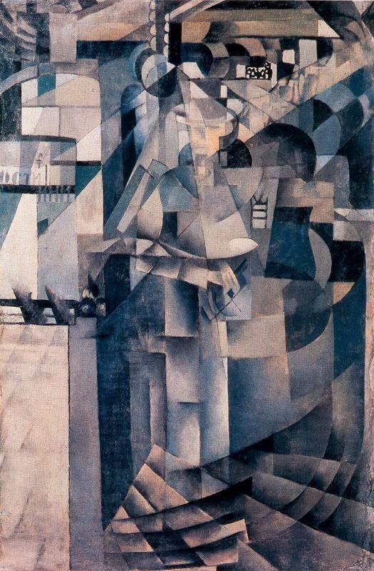 No Grande Hotel - Kasimir Malevich e suas pinturas com elementos geométricos abstratos