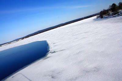 Kemijoki river in Rovaniemi