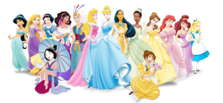 Princesas disney con alicia