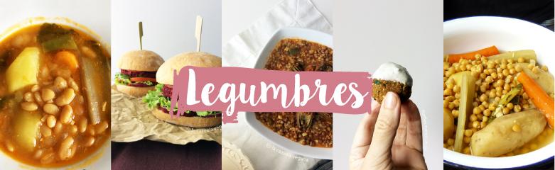 Legumbres veganas de La Cazuela Vegana