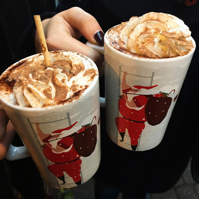 Hot Chocolates at Manchester Christmas Markets