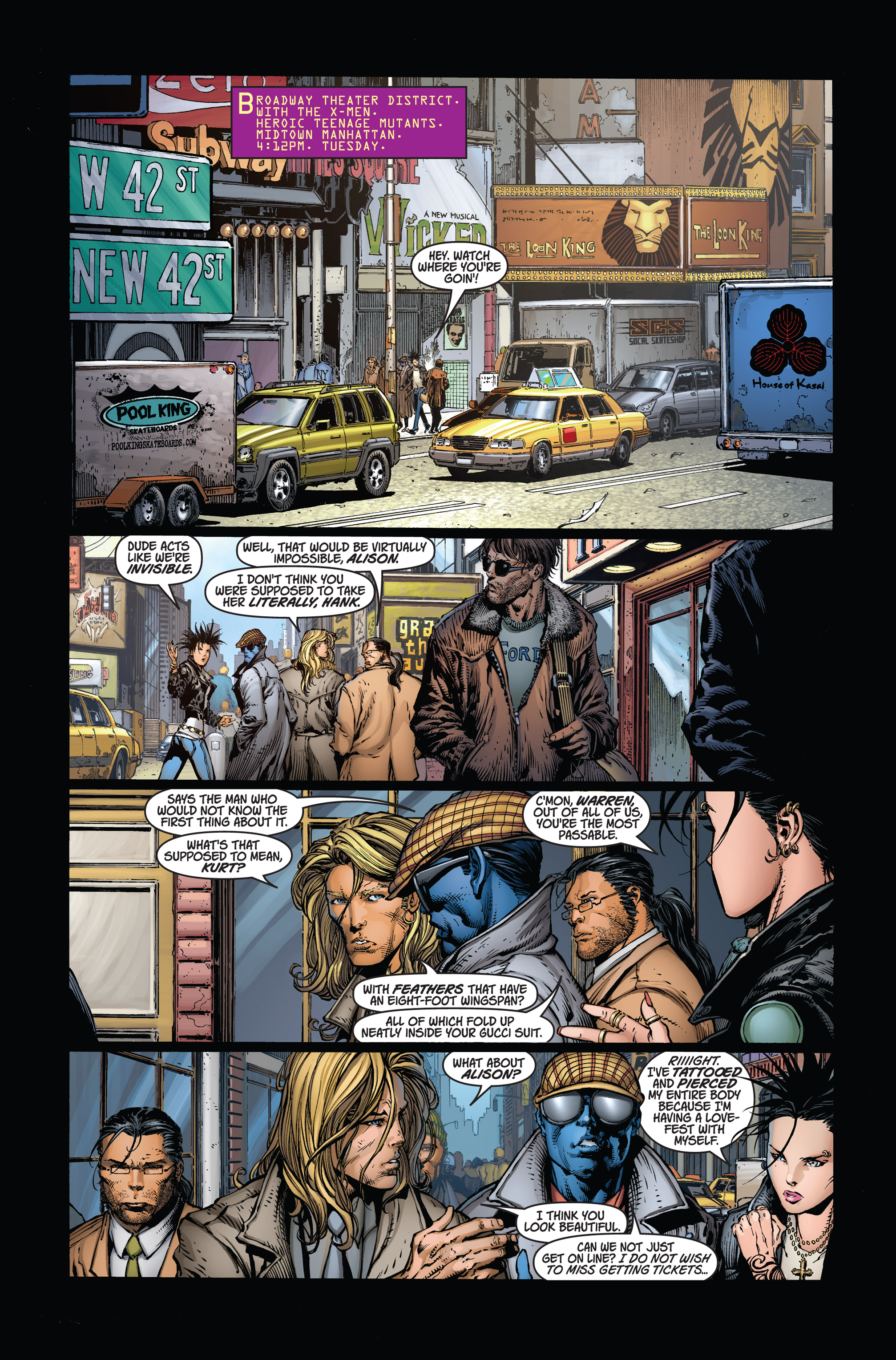 Read online Ultimatum comic -  Issue # _TPB - 8