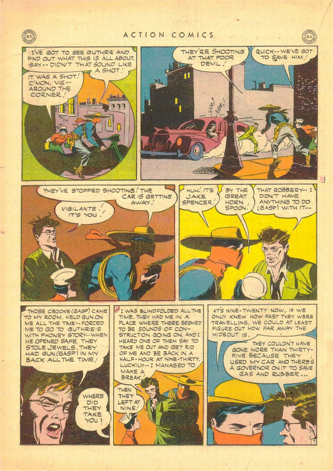 Read online Action Comics (1938) comic -  Issue #80 - 29