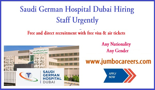 Doctor vacancies in Dubai, Recent hospital jobs in Dubai,