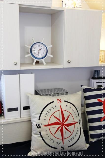 pokój dziecięcy żeglarski