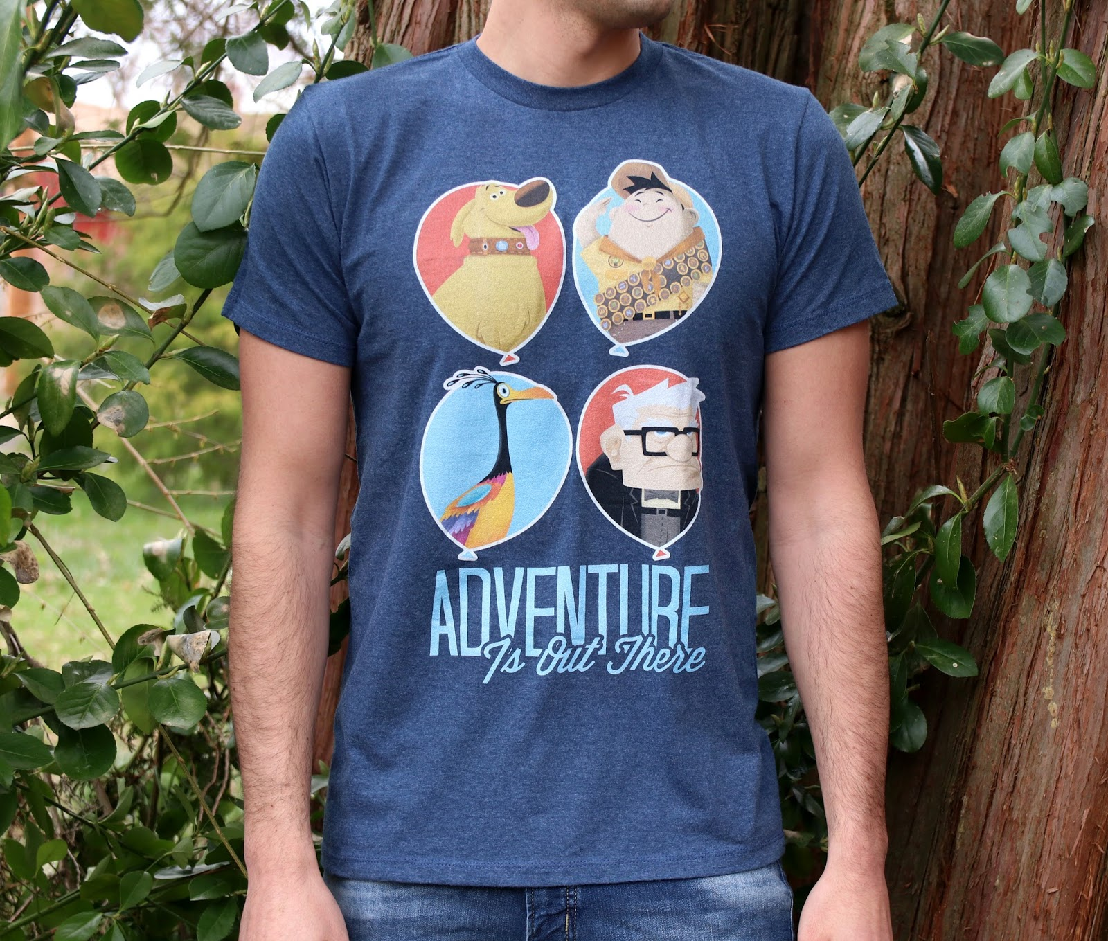 disney pixar up adventure is out there men's tee t-shirt