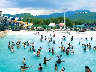 Tourist Place At Pune Panshet Water Park