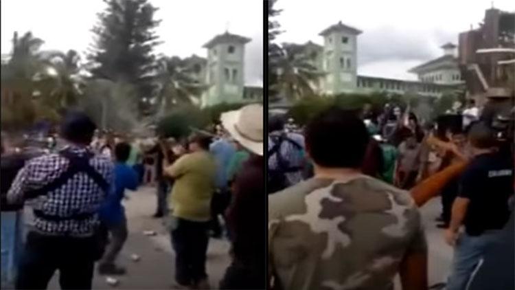 VIDEO: Policía comunitaria de Michoacán envía bélico mensaje a Peña Nieto, Osorio Chong y Caballeros Templarios