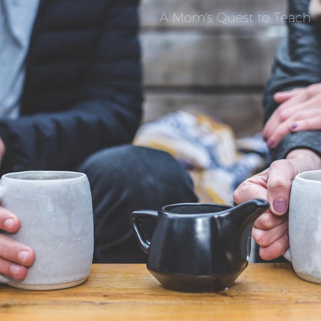 Sharing tea