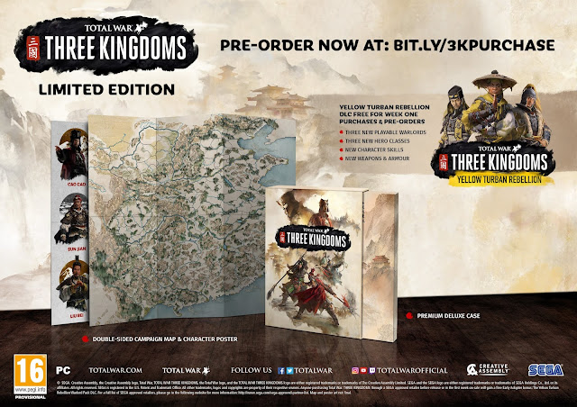 เกมสามก๊ก Total War: THREE KINGDOMS แบบ LIMITED EDITION