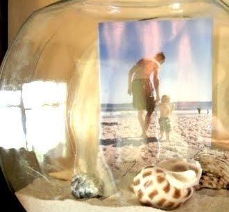 beach memory in bowl