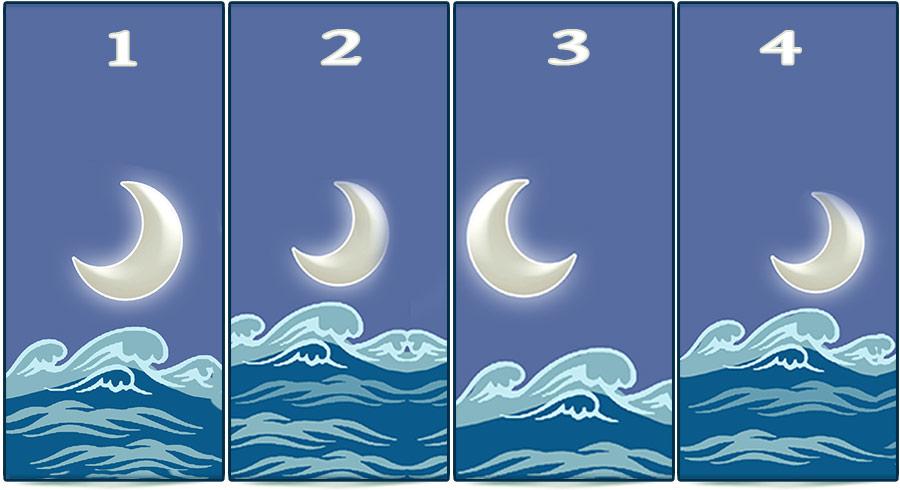 Test de personalidad de la luna y el mar