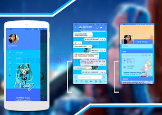 Download BBM Mod Hatsune Miku V3.3.8.73 Apk For Android