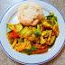 [208] Poulet mit indischem Curry