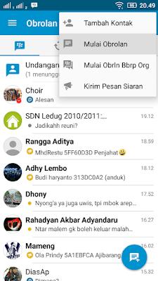 Cara Chatting BBM dengan Orang Lain Tanpa Harus Invite PIN BBMnya, Cara Chat BBM Tanpa Harus Invite PIN Kontak BBM Android, Cara Chat BBM Tanpa Punya Kontak BBM.