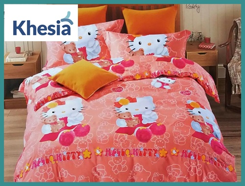 bed cover lucu