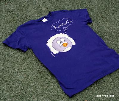 Camiseta personalizada Angry Bird