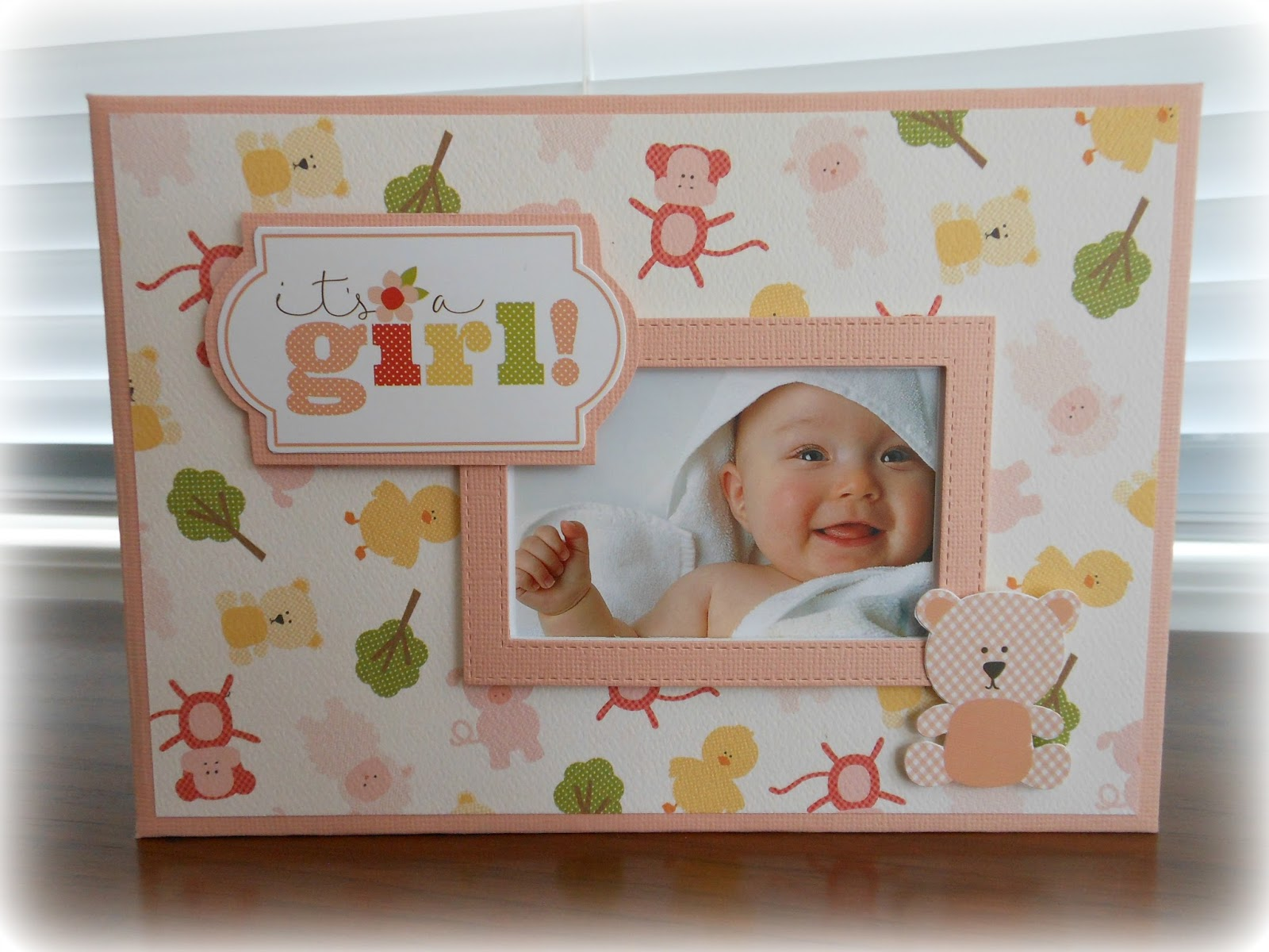 Baby Boy OR Baby Girl Mini Album, with Bonnie | Card Making ...