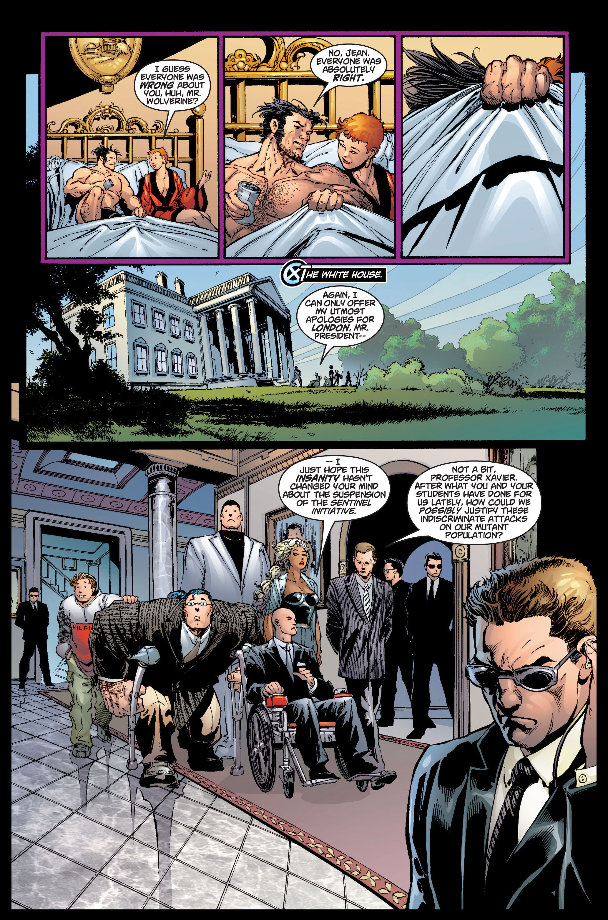 Read online Ultimate X-Men comic -  Issue #5 - 7